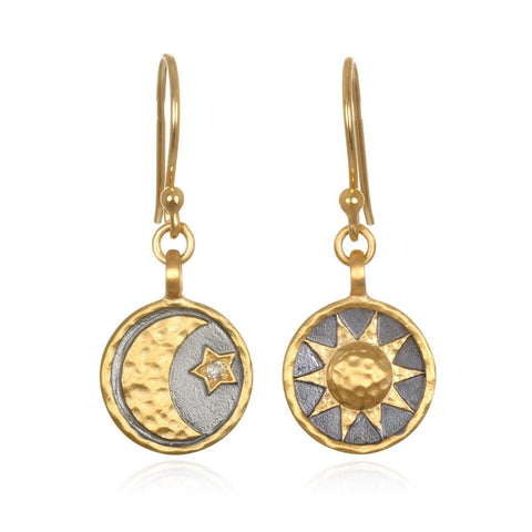 SATYA - Ethereal Balance Earrings -