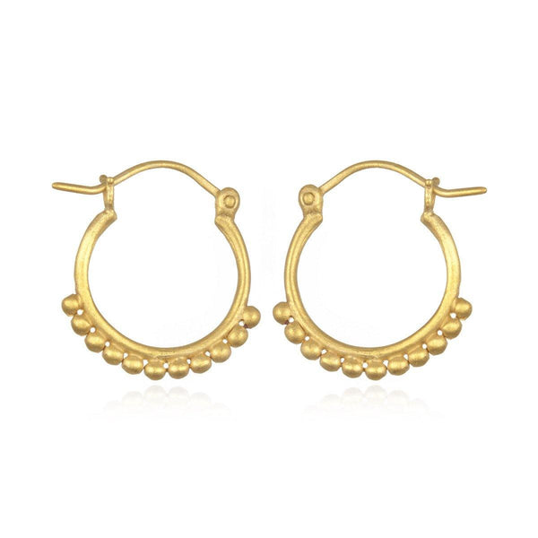 SATYA - Ohrringe ' Gold Small Samsara Hoop ' -
