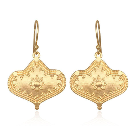 SATYA - Divine Details Gold Earrings -