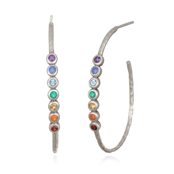 SATYA - Balanced Spirit Silver Earrings -