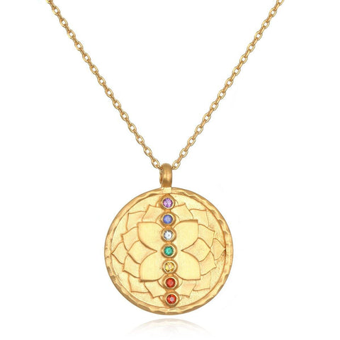 SATYA - Aligned in Purpose Chakra Necklace -