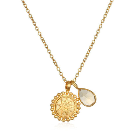 SATYA - Kette ' Mandala Birthstone Necklace - November ' -