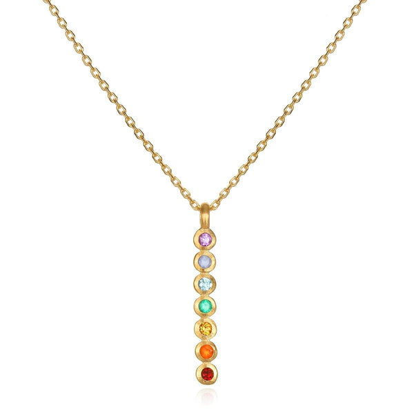 SATYA - Divine Alignment Chakra Necklace -