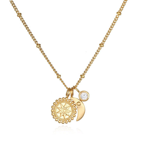 SATYA - Goddess Moon Necklace -