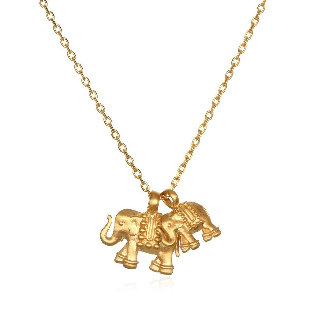 SATYA - Elephant Love Necklace -