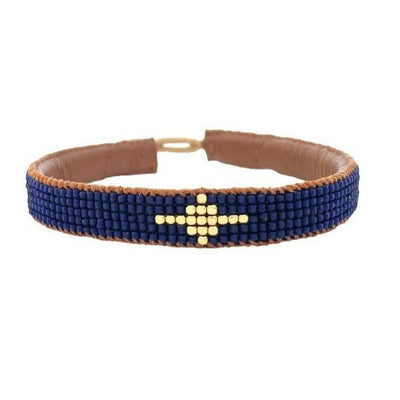 IBU JEWELS - Armband ' Diamond Navy ' - - Das Berlinerzimmer