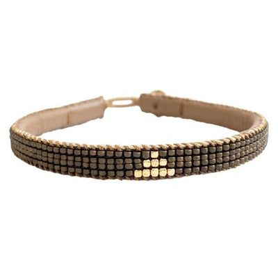 IBU JEWELS - Armband ' Triangle Bronze ' - - Das Berlinerzimmer