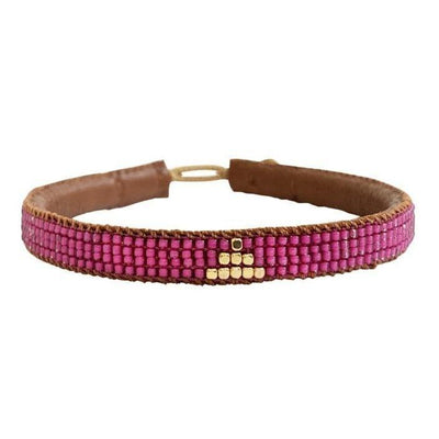 IBU JEWELS - Armband ' Triangle Pink '  - - Das Berlinerzimmer