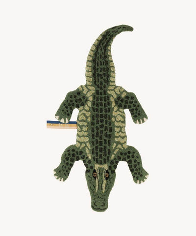 DOING GOODS - Teppich ' CROCO  SMALL ' - - Das Berlinerzimmer