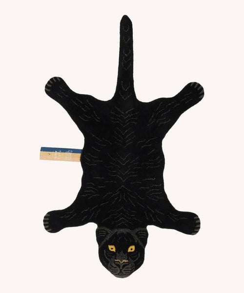 DOING GOODS - Teppich ' Fiery Black Panther Rug Large ' -