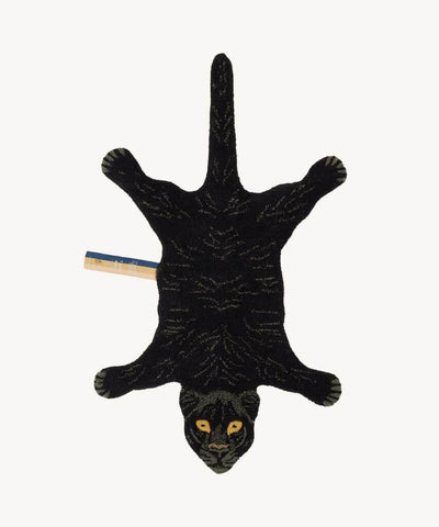 DOING GOODS - Teppich ' Fiery Black Panther Rug Small ' -