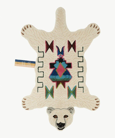 DOING GOODS - Teppich ' POLAR BEAR LARGE ' - - Das Berlinerzimmer