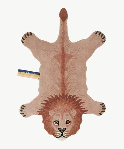 DOING GOODS - Teppich ' PINKY LION LARGE ' - - Das Berlinerzimmer