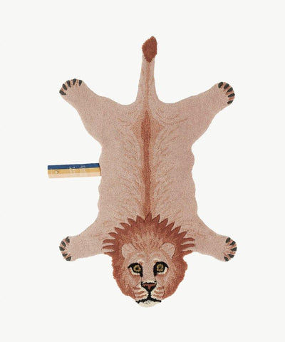 DOING GOODS - Teppich ' PINKY LION SMALL ' - - Das Berlinerzimmer