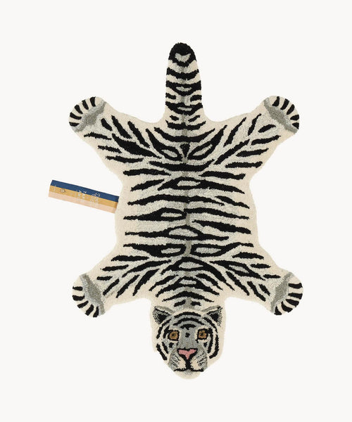 DOING GOODS - Teppich ' Snowy Tiger Rug Small ' -