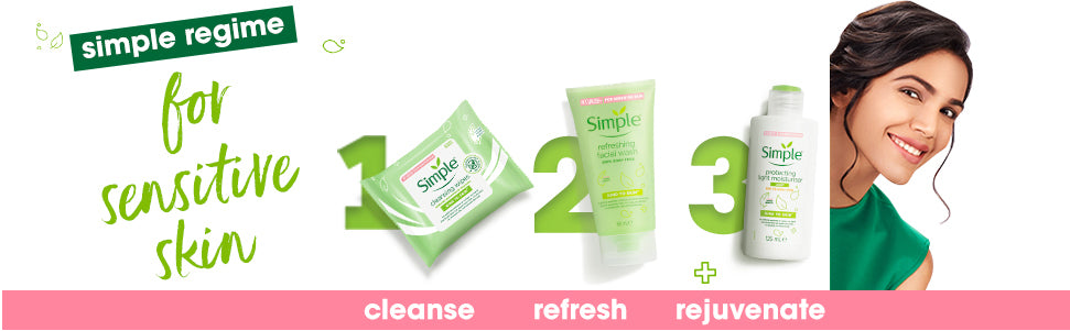 Simple Kind To Skin Refreshing Facial Wash 150 ml