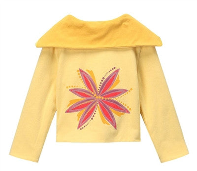 Oceane Reversible Sailor Jacket -  Yellow + Yellow Mist