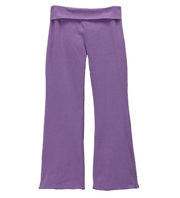 Solange Roll Waist Bell Bottoms - Purple
