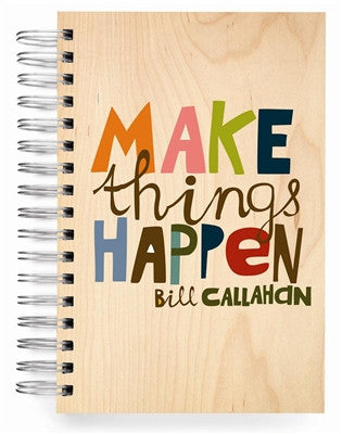 Ecojot Jumbo Journal - Make Things Happen