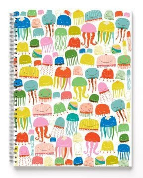 Ecojot Jumbo Jellyfish Sketchbook 9x12