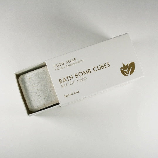 Eucalyptus Mint - Luxury Bath Bomb Cubes (Set of Two)