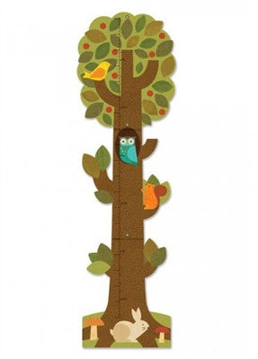 Petit Collage Tree Friends Paper Growth Chart