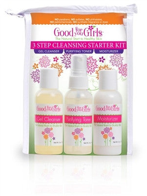Good For You Girls 3 Step Cleansing Skin Care Kit