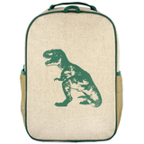 Green Dinosaur Grade School Backpack