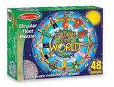 Melissa & Doug Children Around The World Floor Puzzle - 48 Pieces