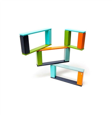 Tegu - 22 Piece Endeavor Magnetic Wooden Block Set