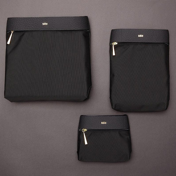 Resa Bag (Set of three) - Black