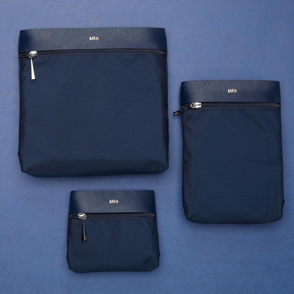 Resa Bag (Set of three) - Navy