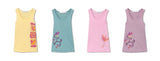 Christelle Racerback Tank with Graphic - Lavender Mist