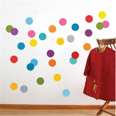 Petit Collage Confetti Fabric Wall Decal