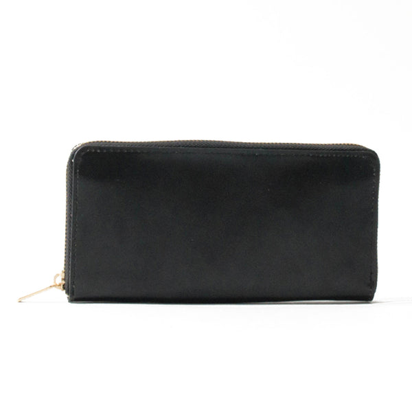Long Wallet Black