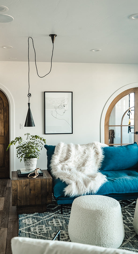 Devine Home, feat. Ovid Pendant by Hudson Valley