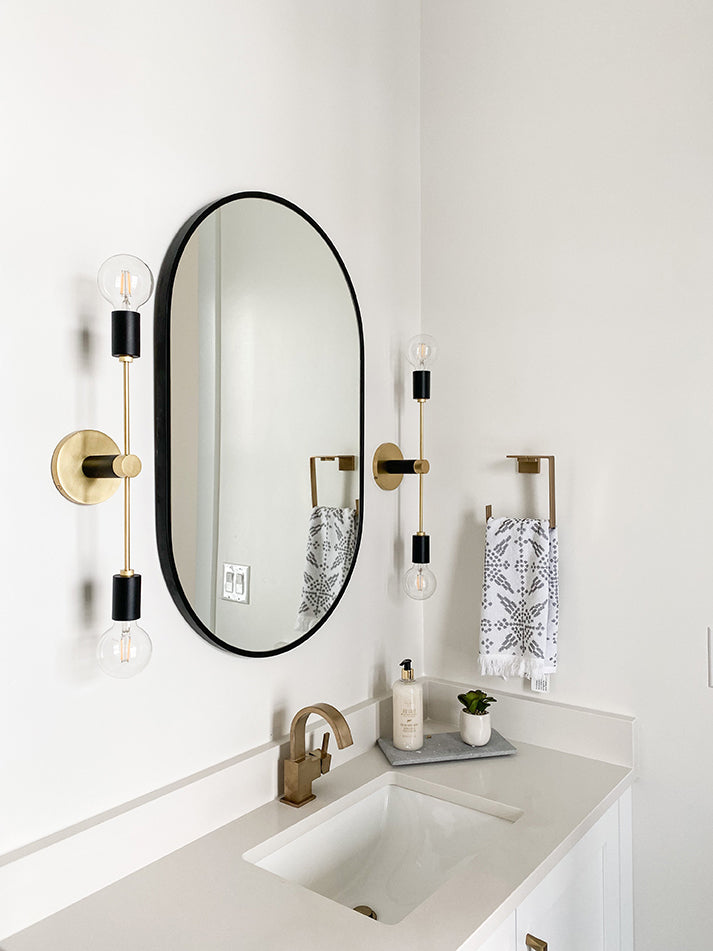 Cadence Homes, feat. the Astrid Sconce by Mitzi