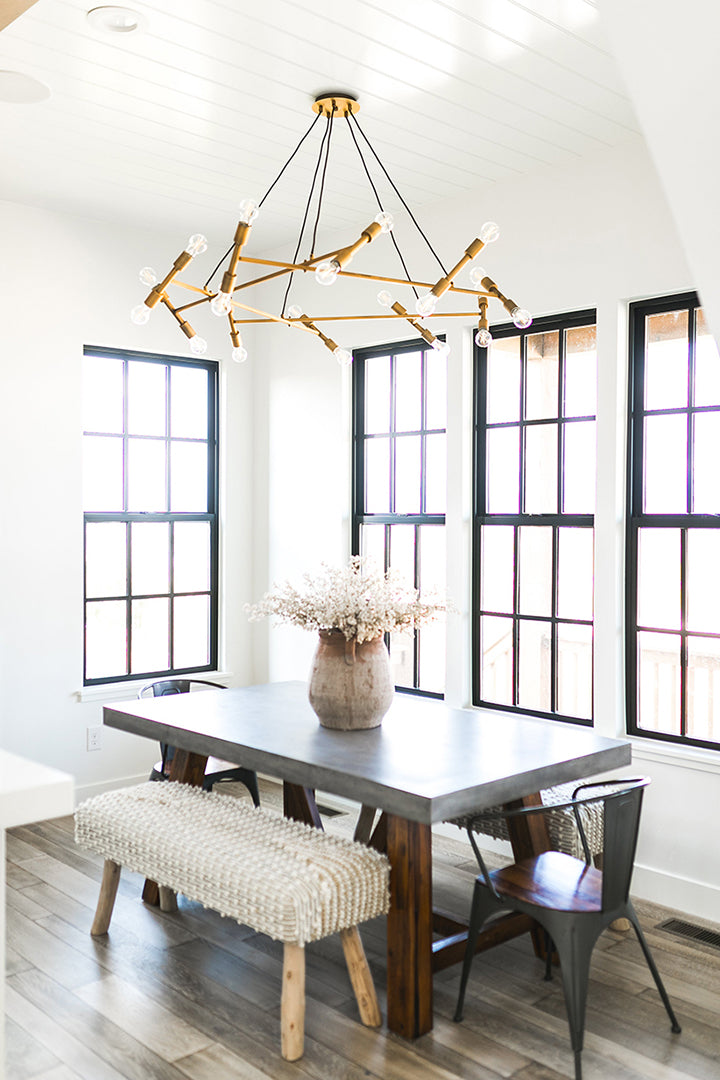 Devine Home Project, feat. Guesting Chandelier by Elk Home