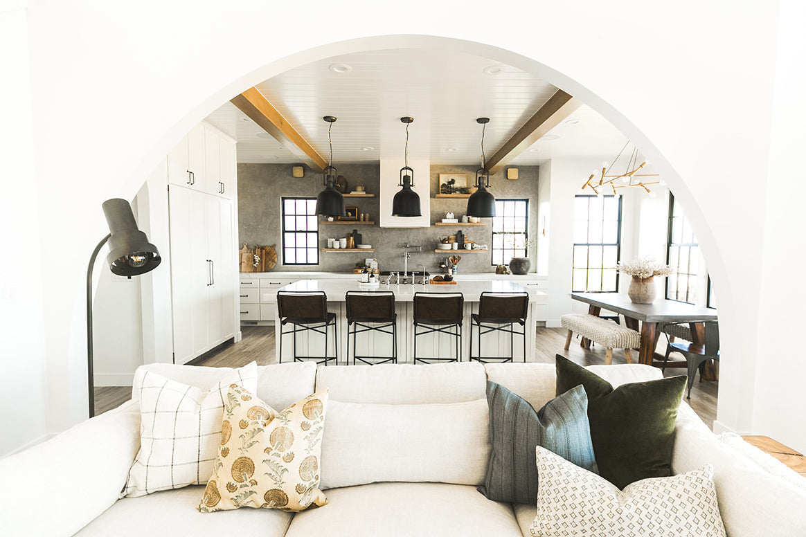 Devine Home Project, feat. Windsor Sconces by Arteriors