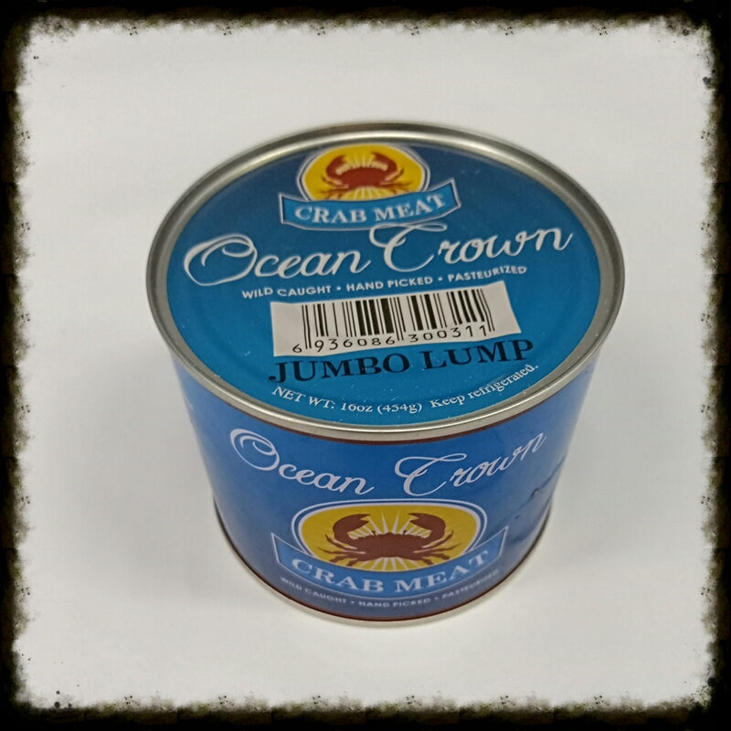 Pasteurized Canned Crab Meat - Jumbo Lump
