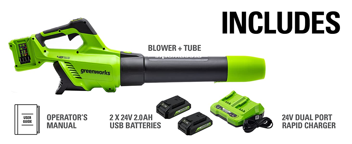 Lithium-Ion Cordless Axial Blower