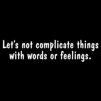 Lets Not Complicate Things
