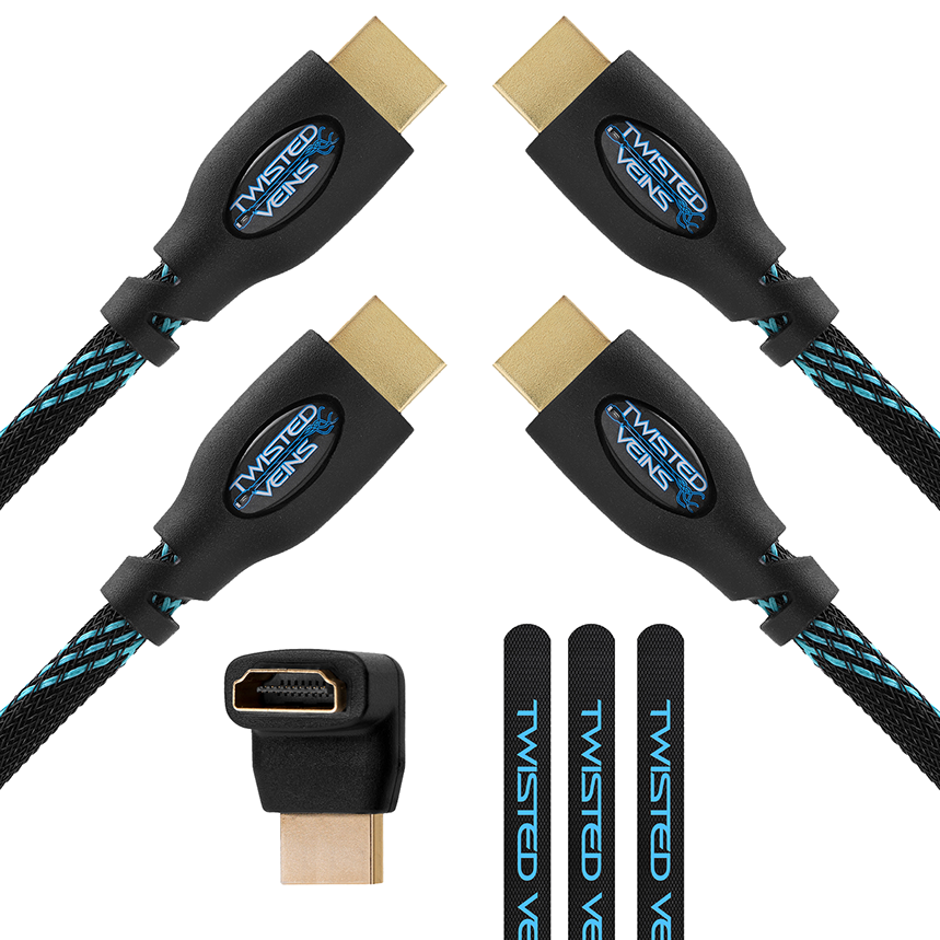 Twisted Veins HDMI Cable 2-Pack - Twisted Veins