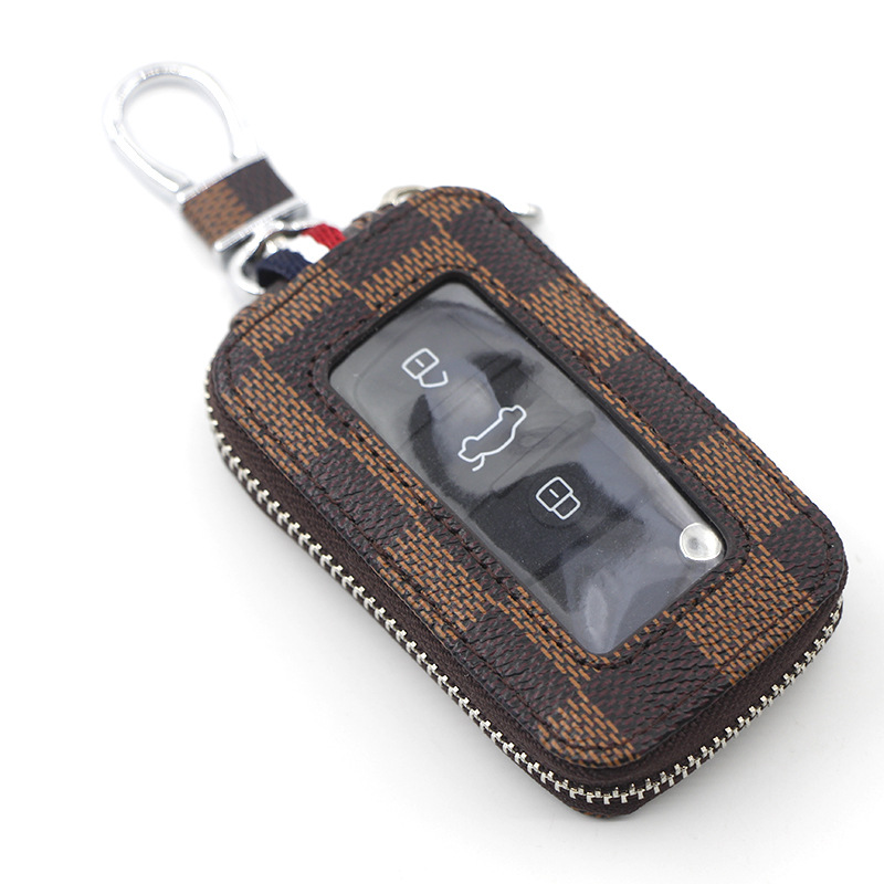 Brown Check Key Fob (ships in @ 3 weeks)
