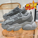 2021 Women Casual Shoes Breathable Female Fashion Sneakers Large Size Increased Women's Shoes  Cushion Mesh Sneakers
