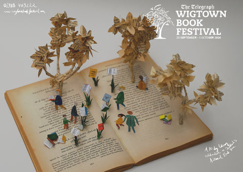 Wigtown book festival concept