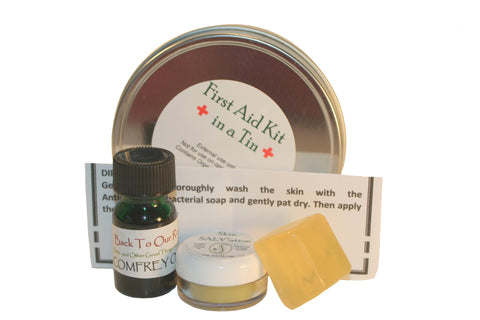 Anticeptic Antibacterial Anitfungal First Aid Soap Back