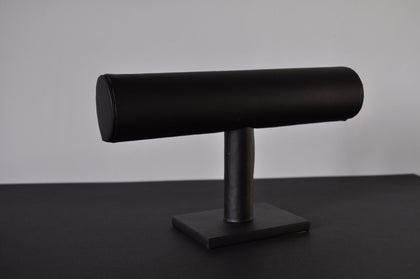 Bracelet holder - leather black