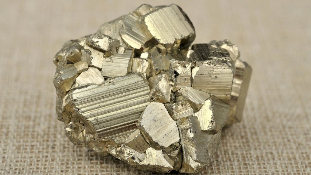 Pyrite - healing crystals for sale - Soothing Crystals