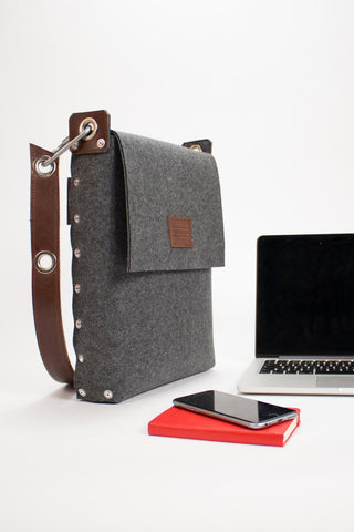 "Laptop bag 13"", Felt Laptop Bag, Laptop Satchel, Bags & Purses, Electronic cases, Laptop Bags"